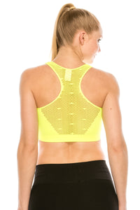 FISHNET RACERBACK TANK TOP