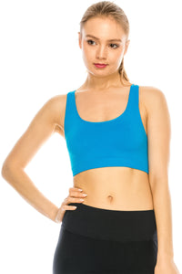 O-RING RACERBACK SPORTS BRA
