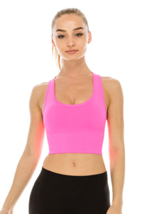 PADDED BIG BAND SPORTS BRA