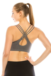 DASHING YOUNG STRAPPY SPORTS BRA