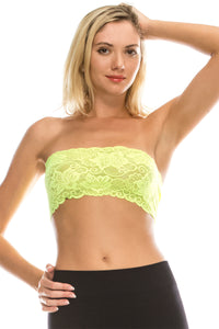 LACE REVERSIBLE TUBE TOP