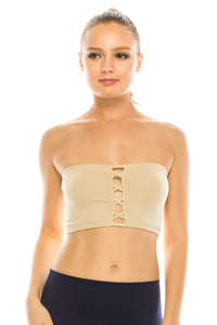 FRONT X MINI BANDEAU TUBE TOP