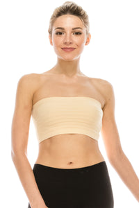 REVERSIBLE STRIPE MINI TUBE TOP