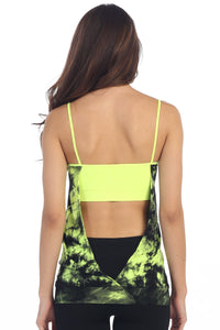 PADDED TIE DYE YOGA WEAR