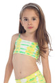 KIDS MULTI COLOR TIE DYE BRA TOP