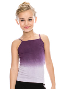KIDS DIP DYED FULL LENGTH CAMI