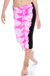 KIDS TIE DYE COLOR LEGGINGS