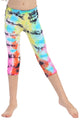 KIDS MULTI COLOR TIE DYE LEGGINGS
