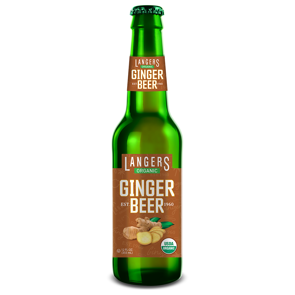 12oz Organic Ginger Beer