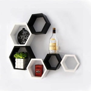Panda™ Trendy Wooden Floating Wall Shelves