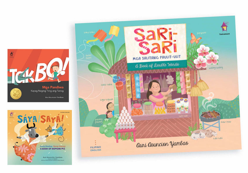 Let's learn Filipino with Auri's fun language books!