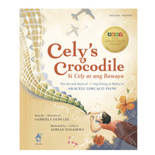 Load image into Gallery viewer, CELY'S CROCODILE: The Art and Story of Araceli Limcaco Dans