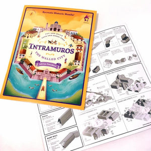 INTRAMUROS: The Walled City (Cut-and-Build Your Own Model Fort)