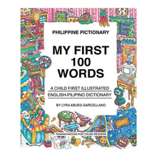 Load image into Gallery viewer, PHILIPPINE PICTIONARY: My First 100 Words