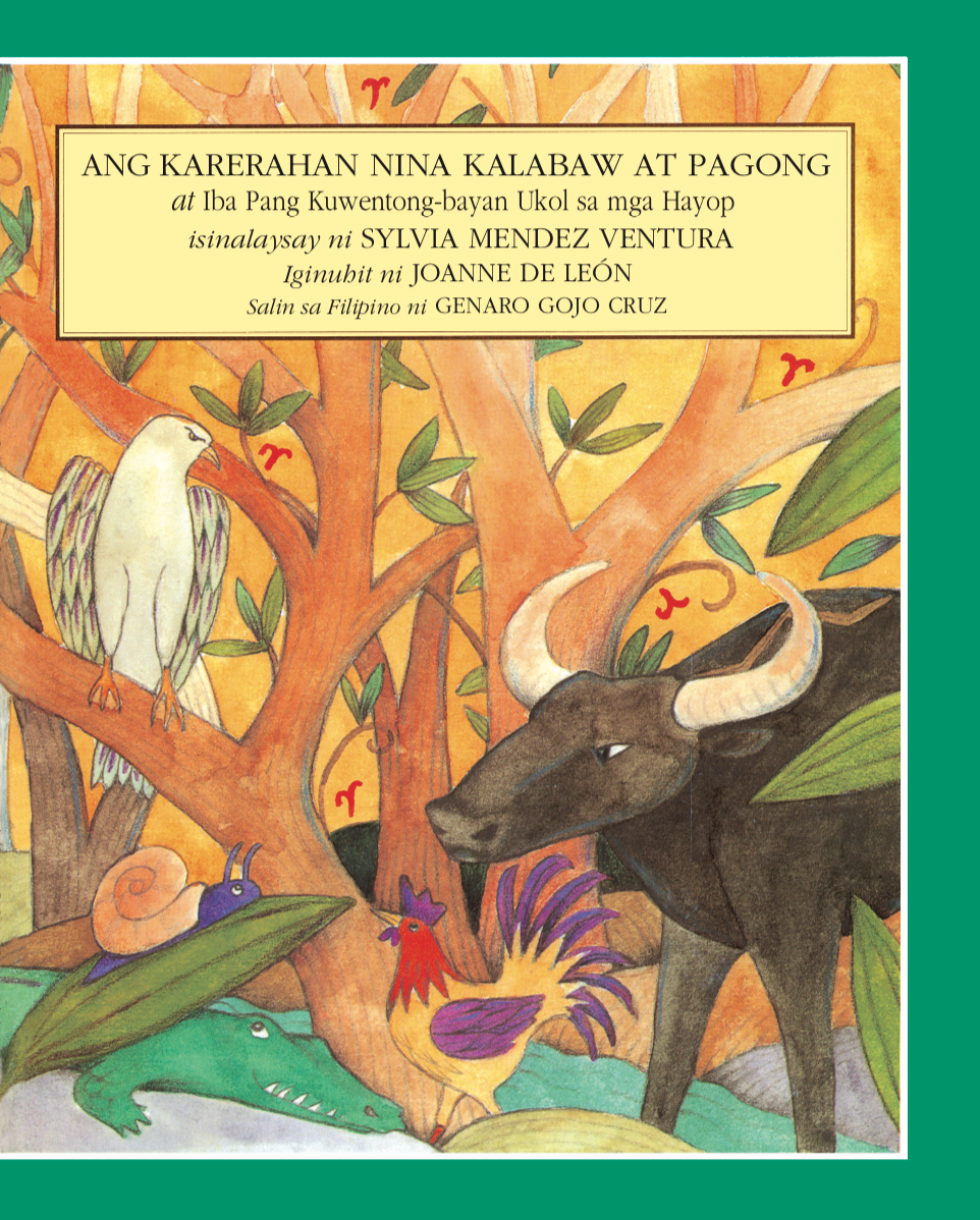 Karerahan nina Kalabaw at Pagong (A Folktale Collection in Filipino)