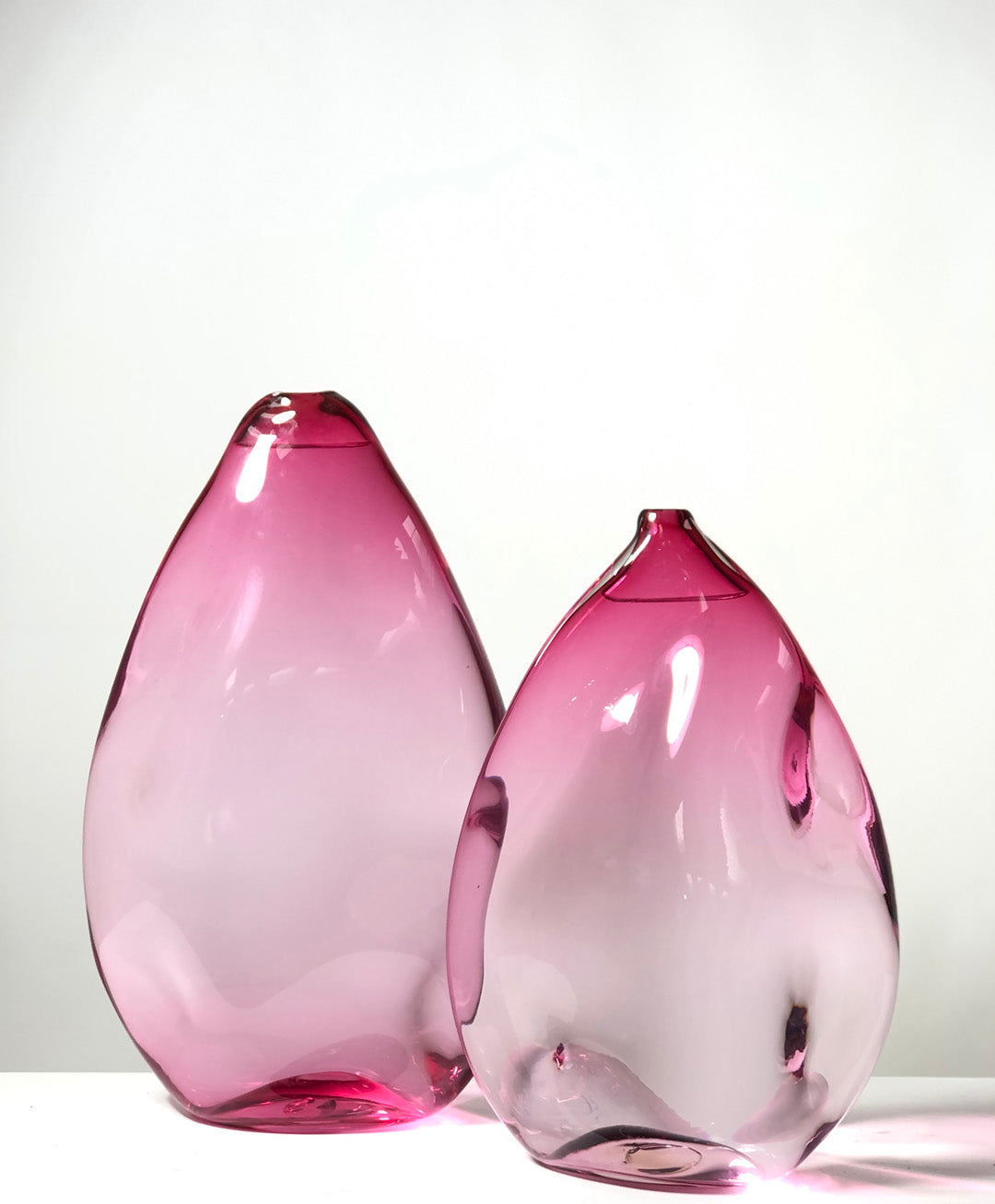 Handblown Ruby Water Vase