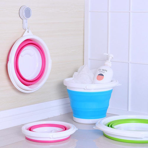 Silicone Portable Folding Bucket