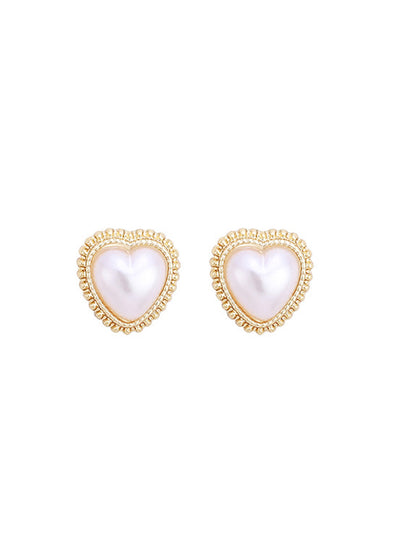 White Woman Earring Solid alloy Fashion Earring LC01738-1