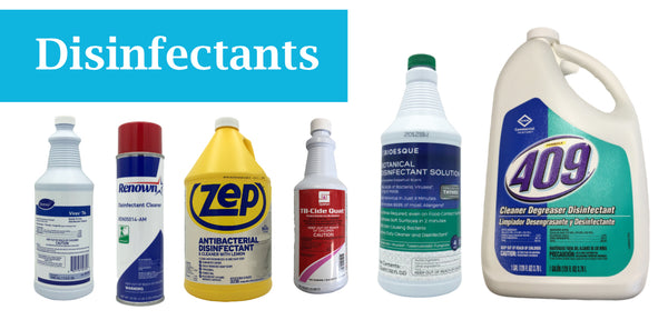 Click to Purchase Disinfectants