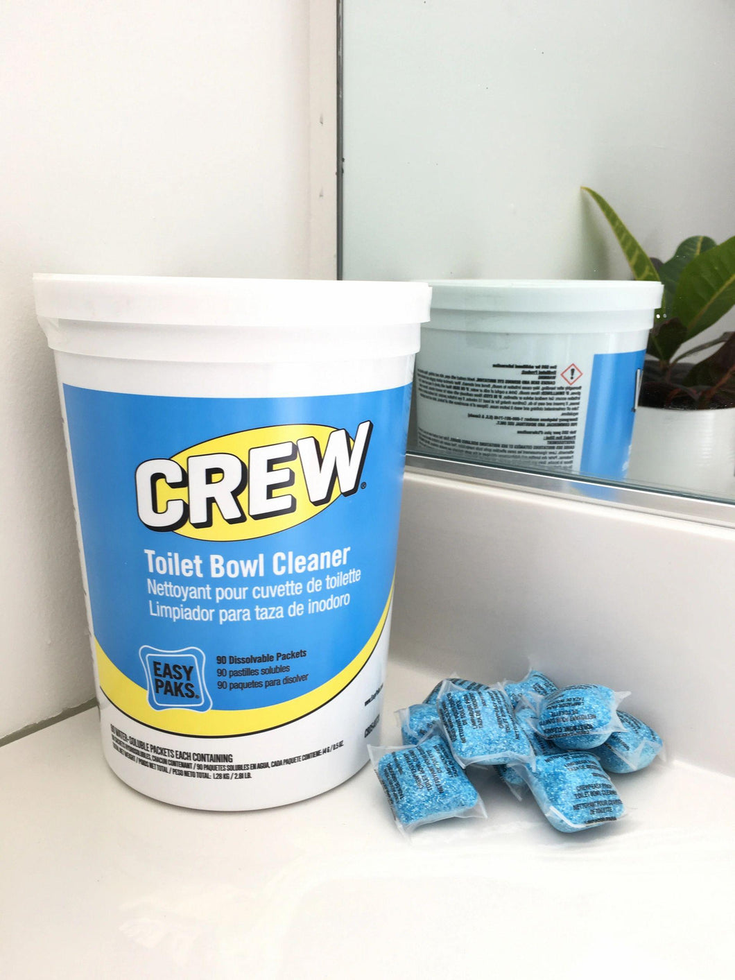Crew Easypaks Toilet Bowl Cleaner (1 Tub-90packets)