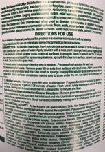 Load image into Gallery viewer, Strike BAC Spearmint Odor Disinfectant - 1 Gallon