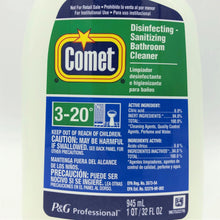Load image into Gallery viewer, Comet Disinfecting - Sanitizing Bathroom Cleaner - 1 QT