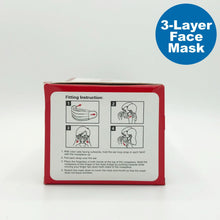 Load image into Gallery viewer, WORKPRO 3-Layer Disposable Face Mask - 50 PCS