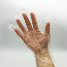 Load image into Gallery viewer, Ambitex P6505 Clear Synthetic Polyethylene Gloves - 500 Gloves/Box (Medium)