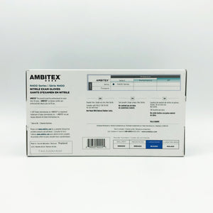 Ambitex N400 Series Nitrile Gloves - 100 Gloves/Box (Size: Large)