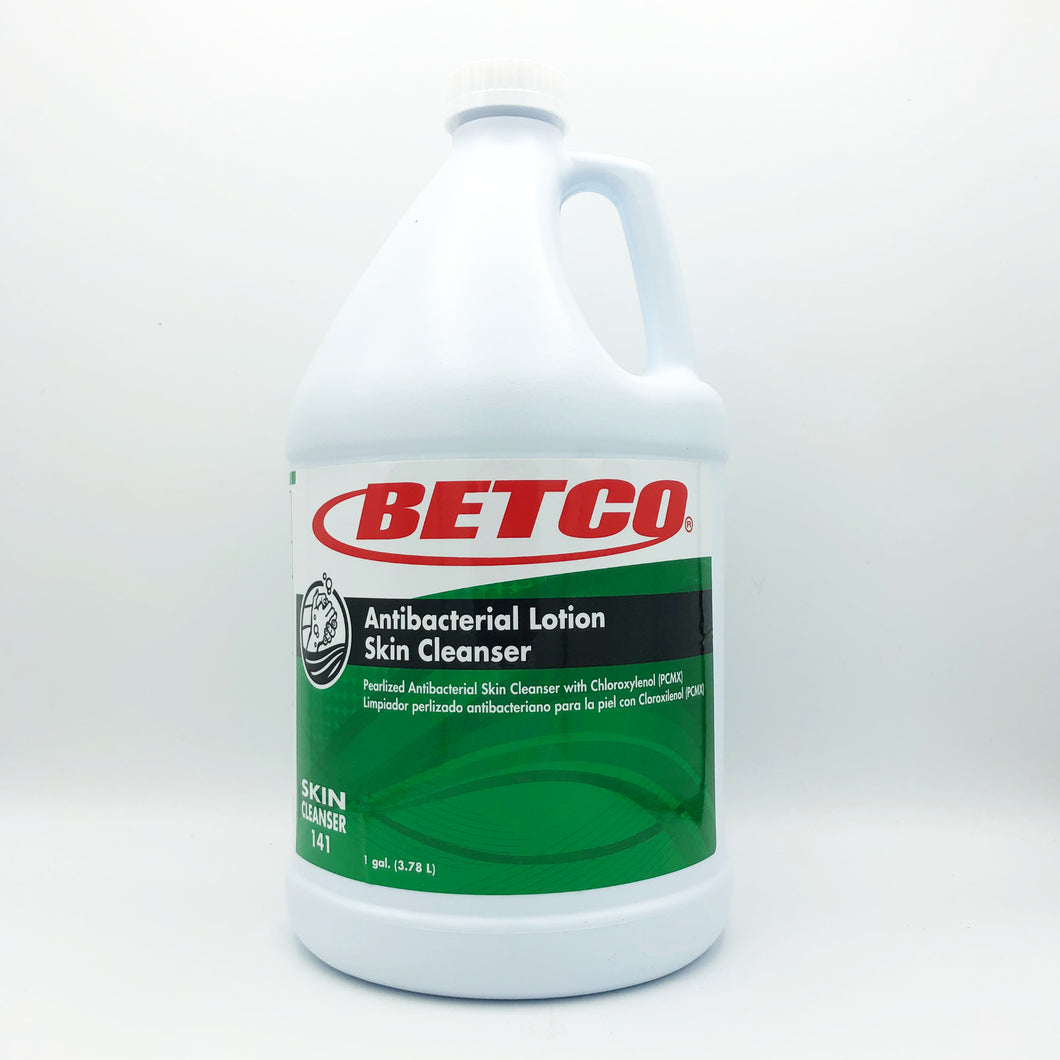 Betco Antibacterial Lotion Skin Cleanser Hand Soap - 1 Gallon