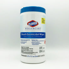 Load image into Gallery viewer, Clorox Healthcare Bleach Germicidal Wipes - 70 Wipes
