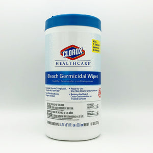Clorox Healthcare Bleach Germicidal Wipes - 70 Wipes