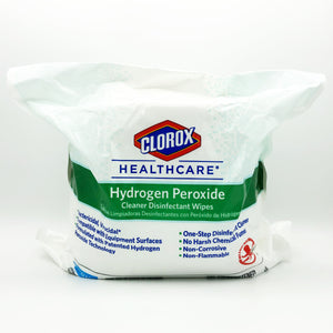Clorox Healthcare Hydrogen Peroxide Cleaner Disinfectant Wipes Refill - 185 Wipes