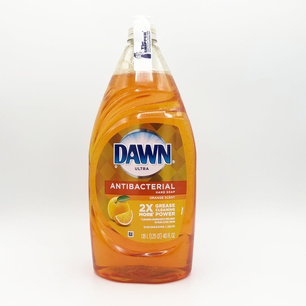 DAWN Ultra Antibacterial Liquid Dish Washing Soap- 40 oz (Orange Scent)