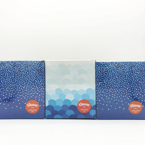 Kleenex 3-Ply Antiviral Facial Tissue (Pack of 3 Boxes)