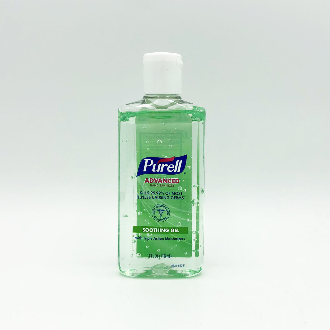 Purell Advanced Soothing Gel Hand Sanitizer Fresh Scent - 4oz.