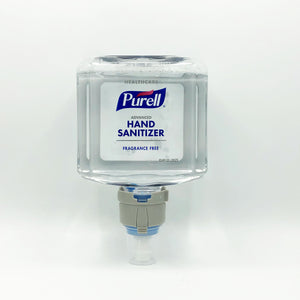 PURELL Healthcare Advanced Gentle and Free Foaming Hand Sanitizer Refill for ES8 Dispenser 1200 ml (7751-02)