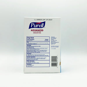 PURELL SINGLES Advanced Hand Sanitizer Packs with Self-Dispensing Display Box (125 Packs)