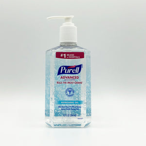 Purell Advanced Refreshing Gel Hand Sanitizer Clean Scent (12 oz)
