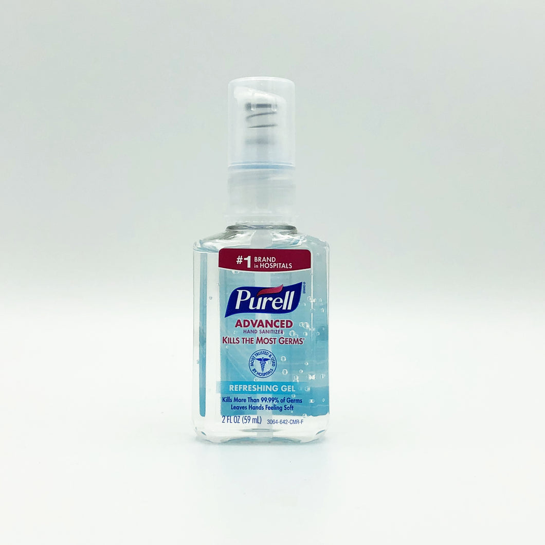 Purell Advanced Refreshing Gel Hand Sanitizer (2oz)