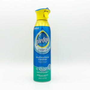 Pledge Multi-Surface Cleaner Aerosol - Rainshower 9.7oz