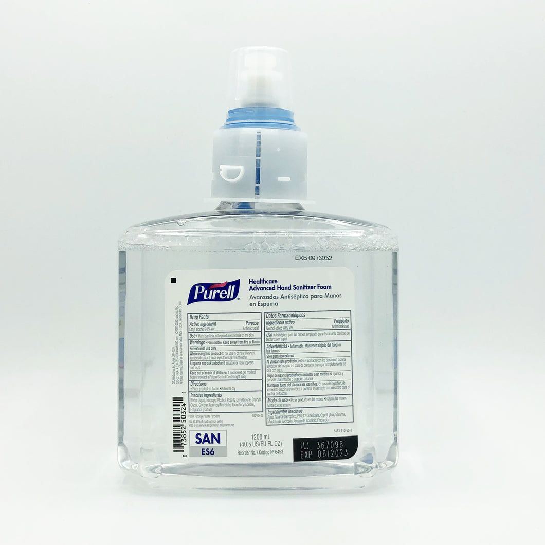 Purell Healthcare Advanced Hand Sanitizer Foam Refill (6453-640-ES-B)