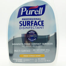 Load image into Gallery viewer, Purell Professional Surface Disinfectant Spray, Citrus - 32 oz