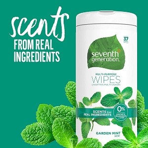 Seventh Generation Multi-Purpose Wipes - 37 Wipes
