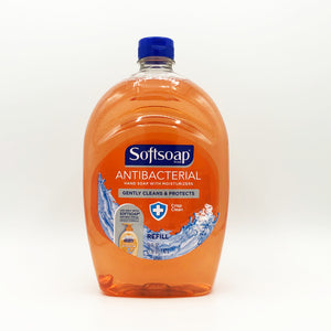 Softsoap Antibacterial Hand Soap with Moisturizers Crisp Clean Refill - 50 oz