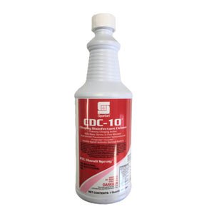 Spartan CDC-10 Disinfectant Cleaner - 1qt