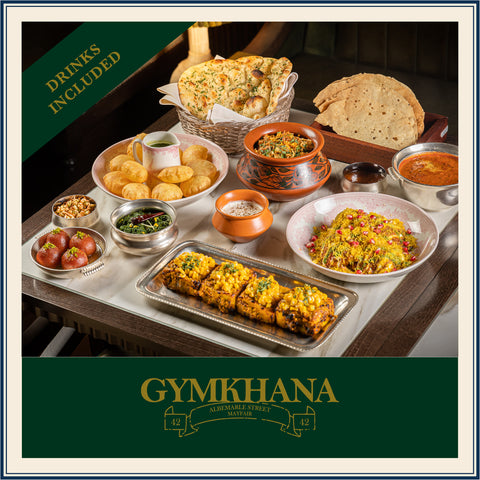 GYMKHANA VEGETARIAN FOOD & DRINK CLUB EXPERIENCE (Serves 4)