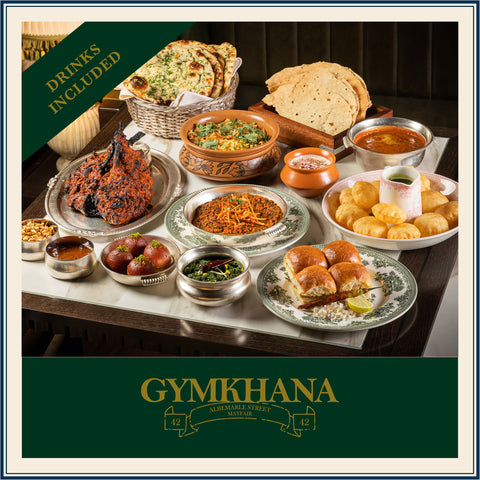 GYMKHANA FOOD & DRINK CLUB EXPERIENCE (Serves 4)