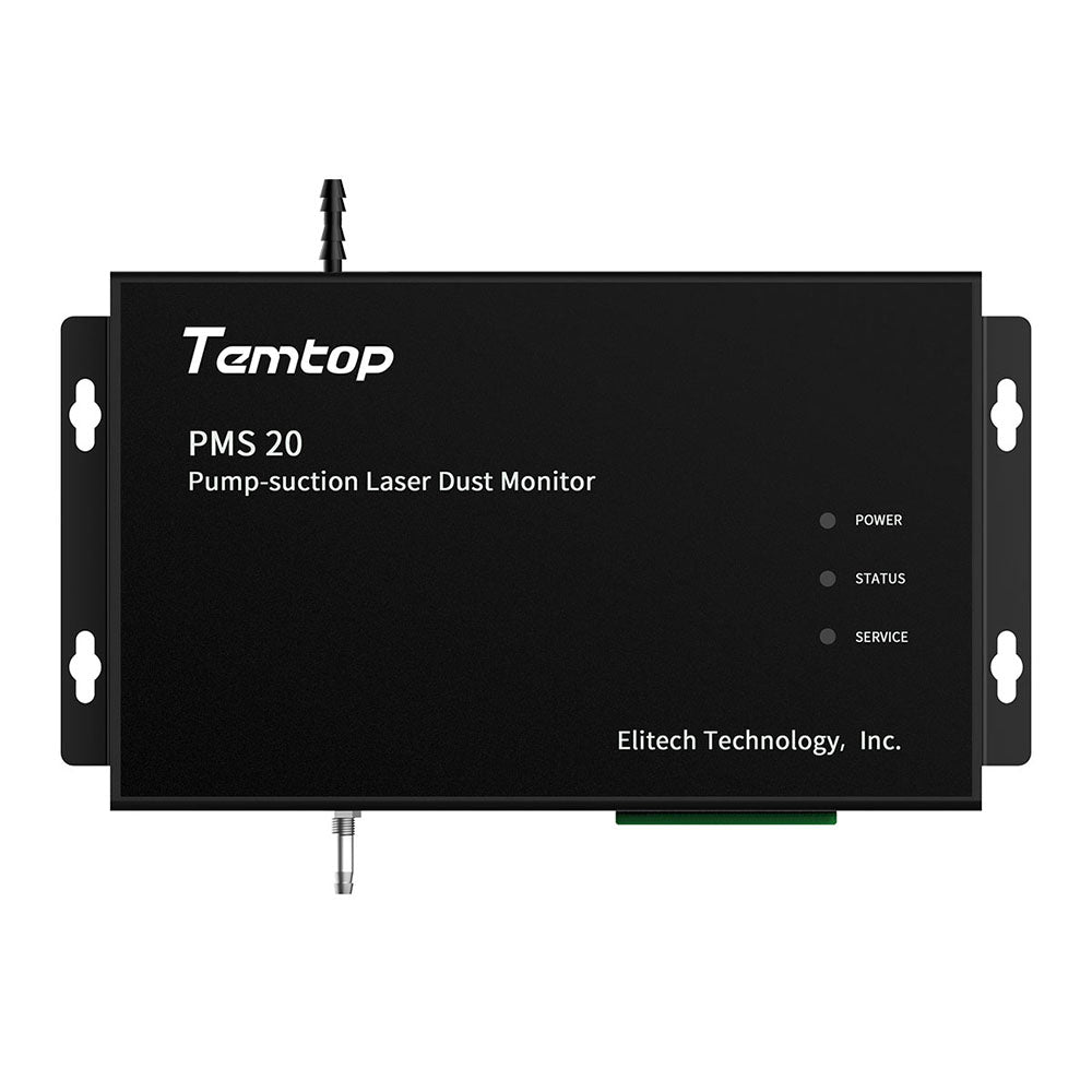 Temtop PMS 20 Pump-Suction Laser Dust Monitor PM1.0 PM2.5 PM10 TSP Mass Concentration 4 Channel 2.83 L/min