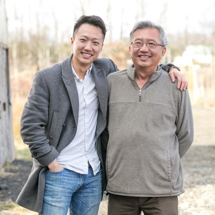 Founders of Mushroom King Farm